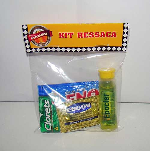kit ressaca para festa decorada de boteco