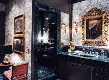 banheiro luxuoso tradicional masculino