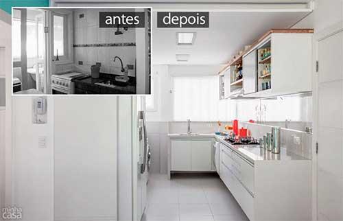 resultado de reforma de apartamento pequeno com moveis planejados