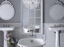 banheiro feminino cinza bonito
