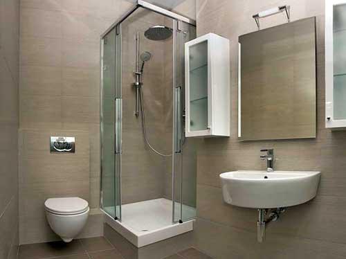banheiro decorado por arquiteto em apartamento pequeno