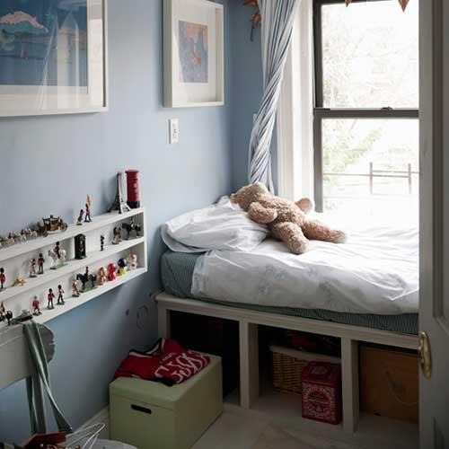quarto infantil em apartamento pequeno