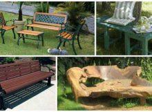 foto de bancos para jardim variados