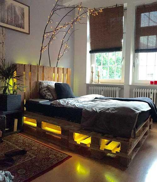 cama de paletes feita por voce mesmo
