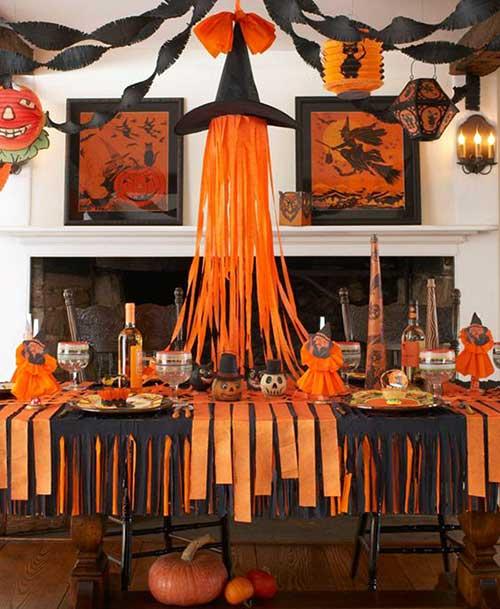 decoracao de halloween para festa em casa