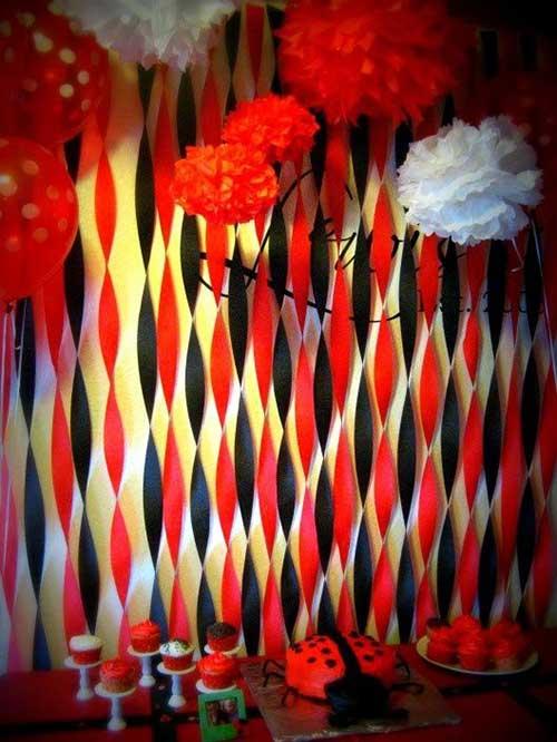 sugestao de decoracao de festa de joaninha