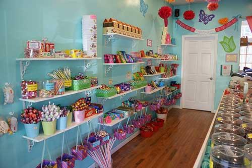 decoracao para loja de doces pequenas