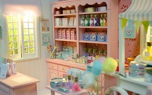 decoracao de loja de doces infantil
