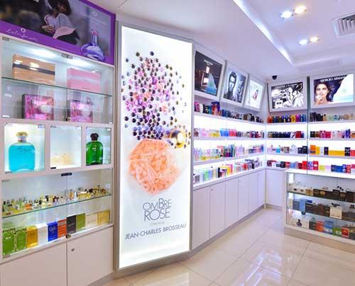 como decorar uma loja de perfumes de forma moderna