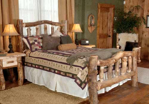 cama em madeira pra casa de roça