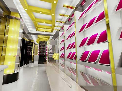 design de loja de bijuteria colorida