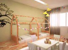 quarto montessoriano para irmaos pequenos ou nenens
