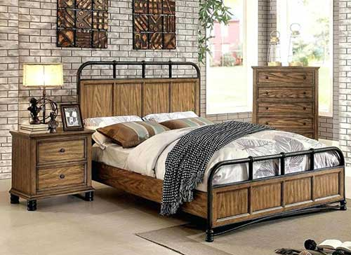 industrial style bedroom furniture 49 ideias pra decorar um quarto r 250 stico 2 diy f 225 ceis de 15641