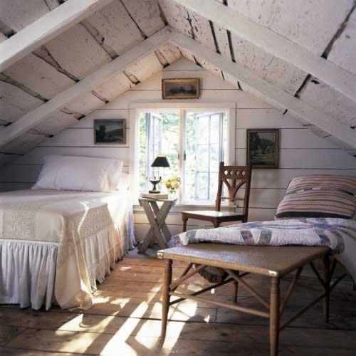 foto de quarto rustico no sotao em foto do tumblr