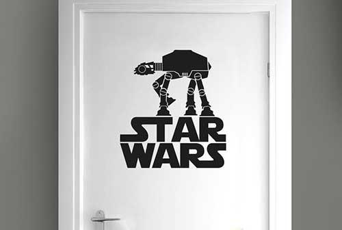 adesivo para porta de banheiro star wars