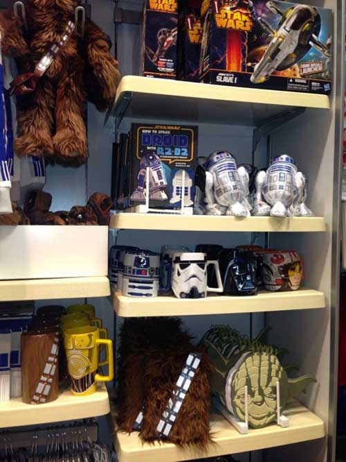 objetos do star wars para decorar o quarto