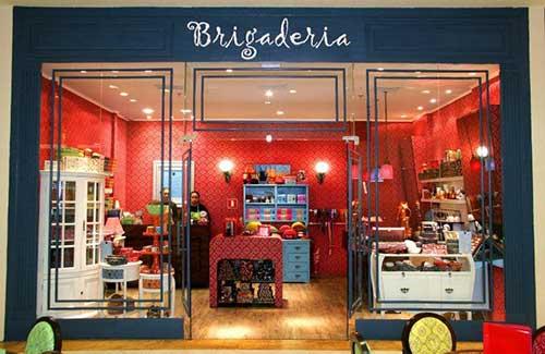 imagem de loja de brigadeiros vista da fachada