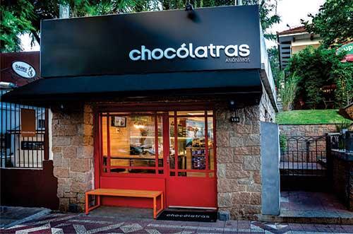 foto de loja de chocolates bonita