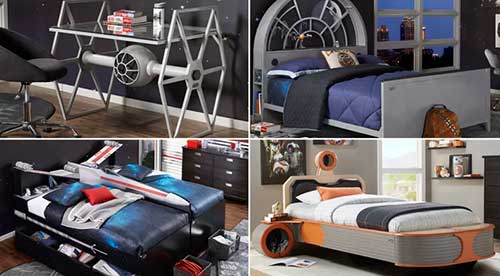 ideias de moveis e decoracao do star wars