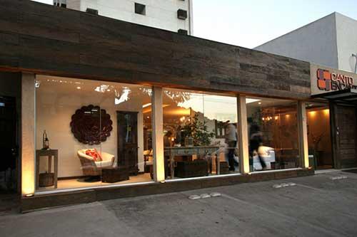 fachada para loja que vende moveis de luxo