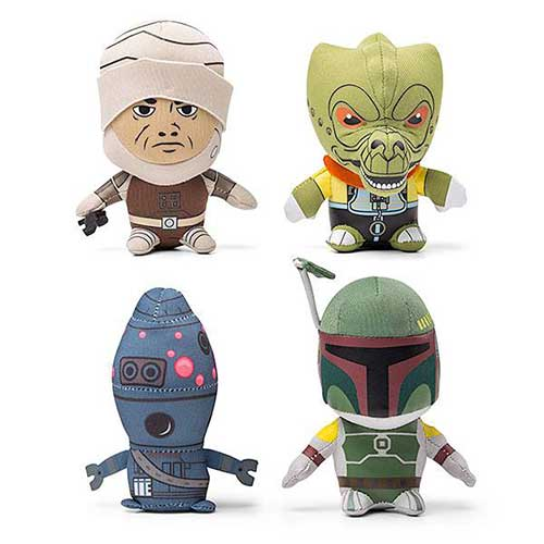 bonecos de pelucia dos caçadores de recompensa do star wars