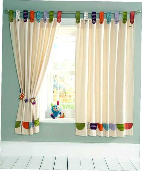 cortina blackout colorida para quarto de bebe