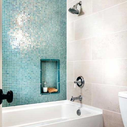 dicas para economizar na hora de revestir o banheiro com pastilha de vidro