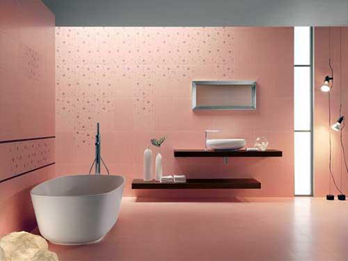 projeto de banheiro clean e moderno