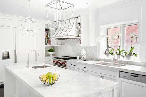 orquideas brancas na cozinha