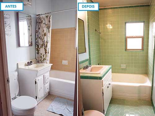 imagem do pinterest de banheiro reformado