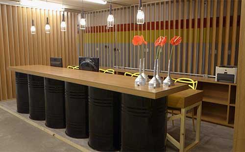 foto de oficina decorada pelo rosenbaum