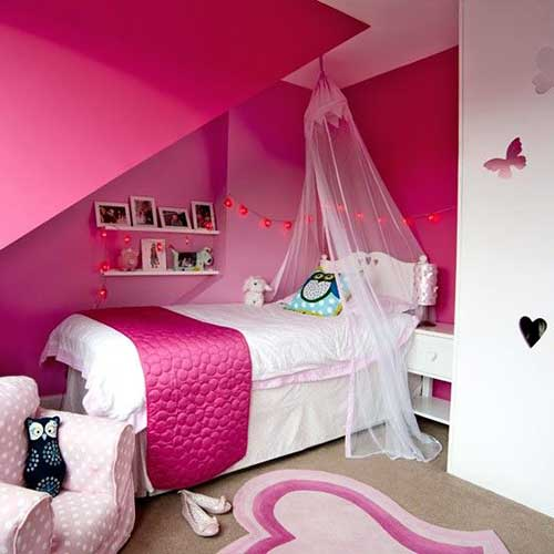 foto de quarto todo rosa pink