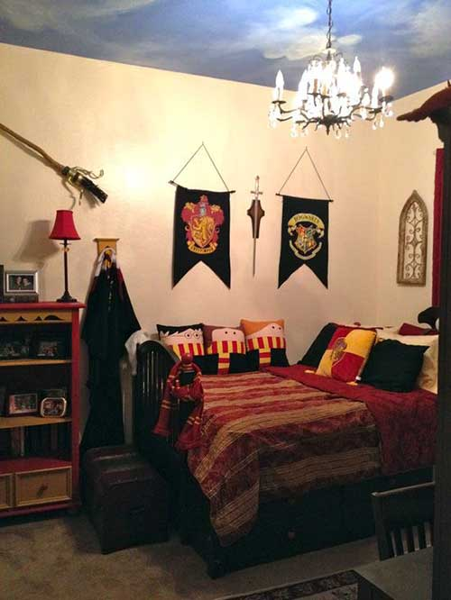 quarto feminino do harry potter