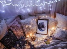 foto de quarto galaxia tumblr