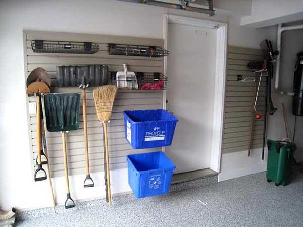 foto de caixa que serve pra separar material reciclavel