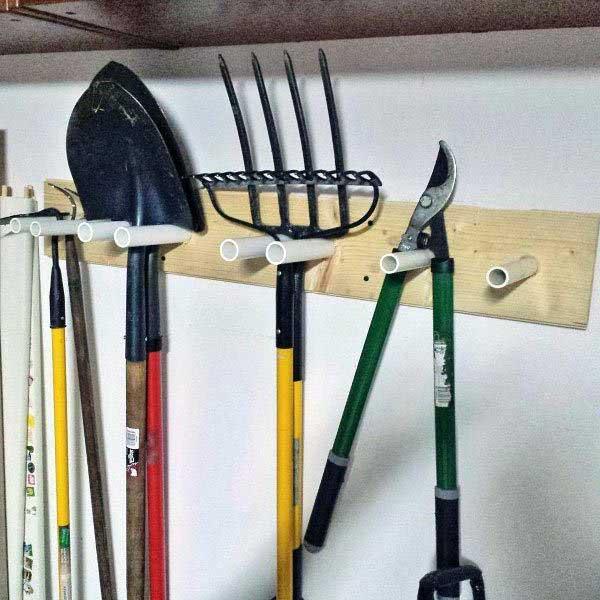 dá pra fazer um suporte para pendurar os utensílios também