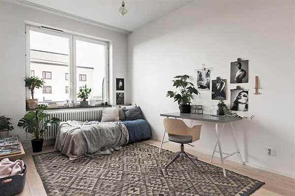 se você morar num lounge, dá para criar um espacinho para continuar os trabalhos em casa