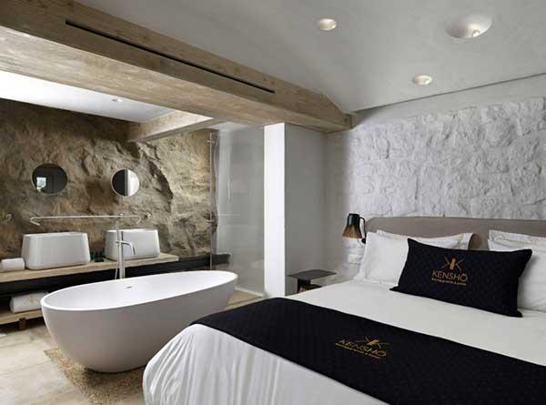 que tal reproduzir uma luxuosa suíte de hotel na sua casa?
