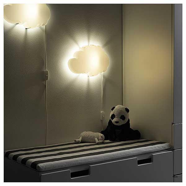 modelo de nuvem - bom para iluminar o quarto do bebê à noite
