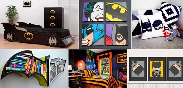 quarto do Batman - ideias e DIY